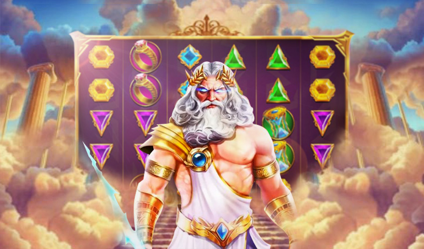 Подложка Gates of Olympus