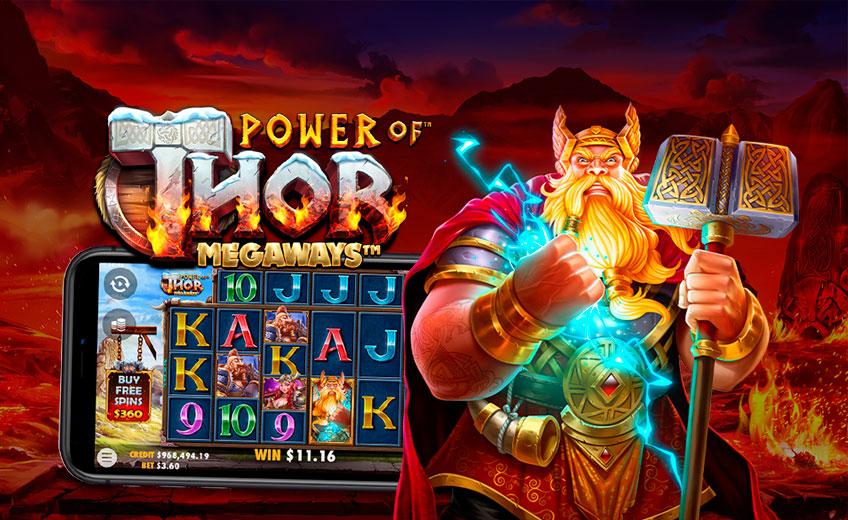 117 469 вариантов выиграть в новом слоте Power of Thor Megaways от Pragmatic Play