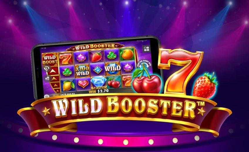 Новый слот Wild Booster от Pragmatic Play c прогрессивными множителями до ×100